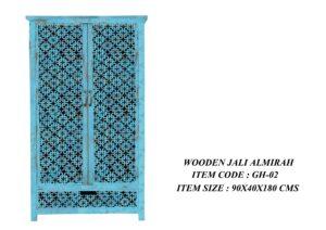 Wooden Jali Almirah