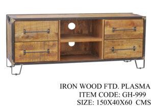 Iron Wood Fitted Plasma