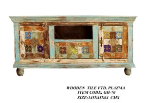 Wooden Tile Fitted Plazma